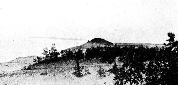 Sleeping Bear dune, 1700's
