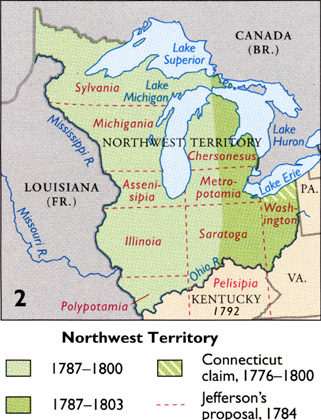 Michigan\'s boundaries