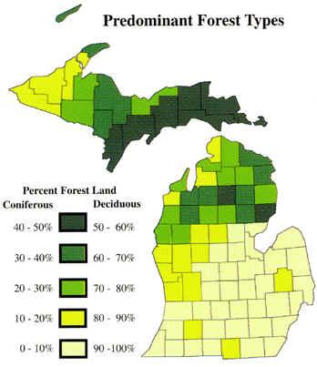 Michigan39s Floristic Zones