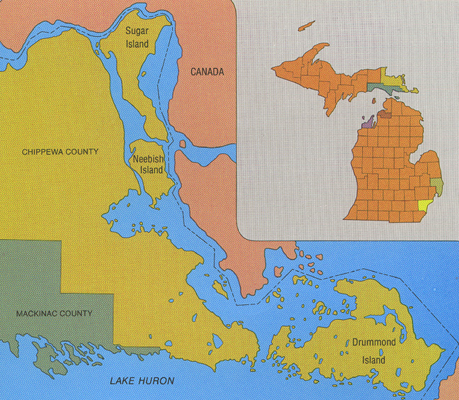 Three Rivers Michigan: Lakes, Rivers And Wetlands