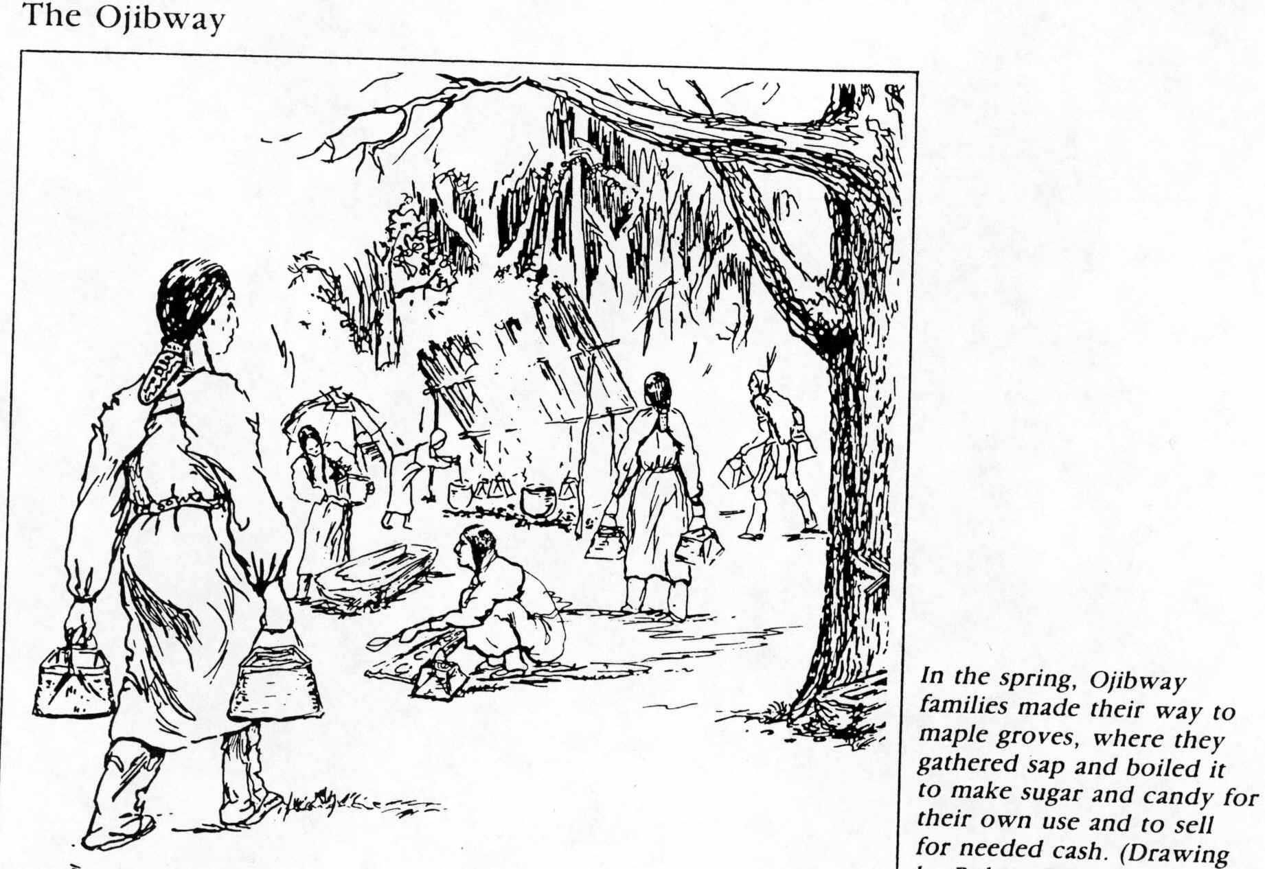 fur trade coloring pages - photo#27