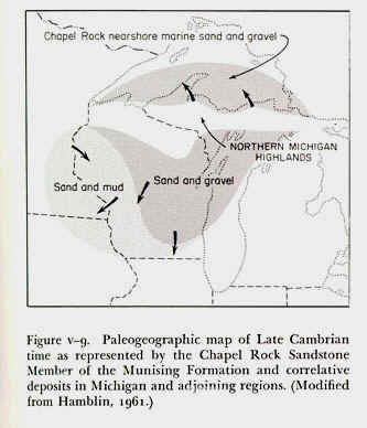 http://www.geo.msu.edu/geogmich/images/paleographic_map_chapel_rock_sandstone.JPG (32151 bytes)