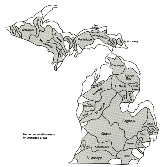 Lakes Rivers And Wetlands
